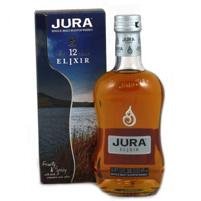 Whisky Malt Isle of Jura Elixer 12 yr 70 cl