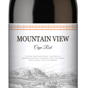 mountain view red 70 cl